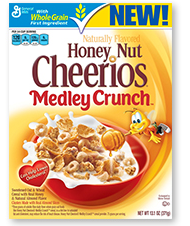 FREE Honey Nut Cheerios Medley Crunch for Box Tops Members on http://hunt4freebies.com