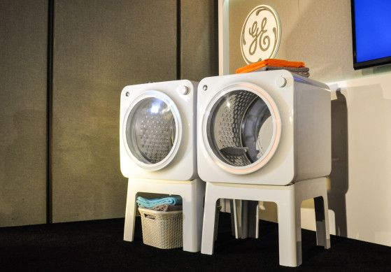 GE Shows Off Futuristic BOXiE Concept Washer and Dryer | Washer ...