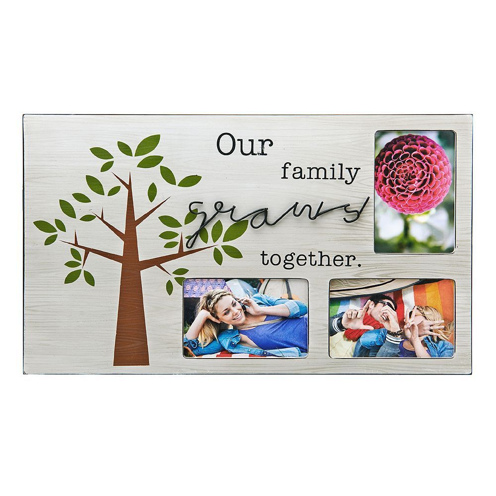 Melannco 3-Opening \'\'Family\'\' Collage Frame, Multicolor | Products ...