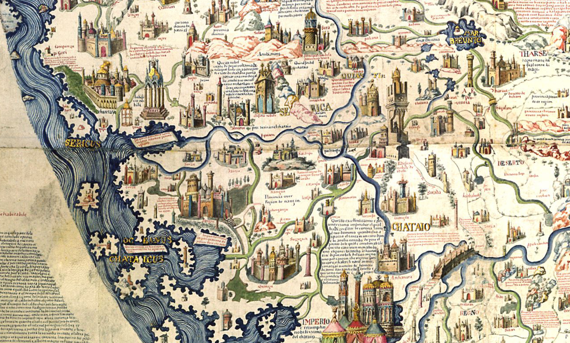 The 15th century monk who crowdsourced a map of the world some of the thousands of annotations on the map gumiabroncs Image collections