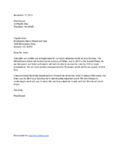 Write a professional letter