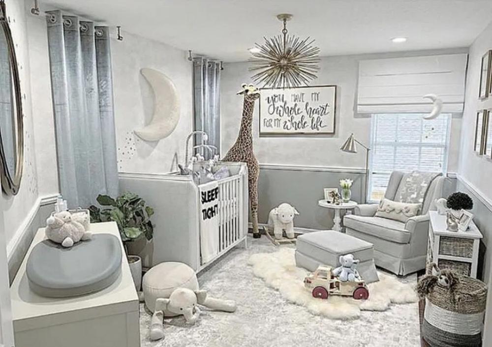 36 Cute Nursery Ideas For Baby Boy 29 Birdexpressions Com Nurseryideas Nurserydesign Nurserydesig Room Design