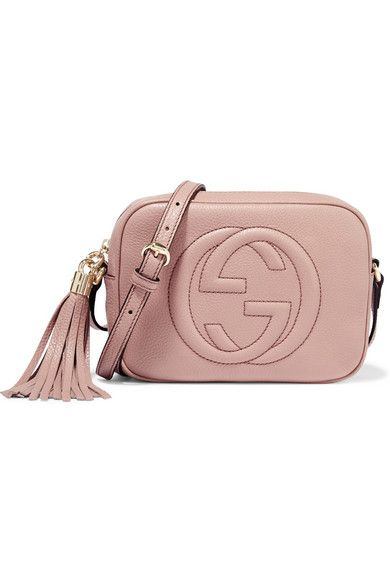 1ac91372ab90 Blush textured-leather (Calf) Zip fastening along top Designer color:  Powder Comes with dust bag Weighs approximately 0.9lbs/ 0.4kg Made in Italy
