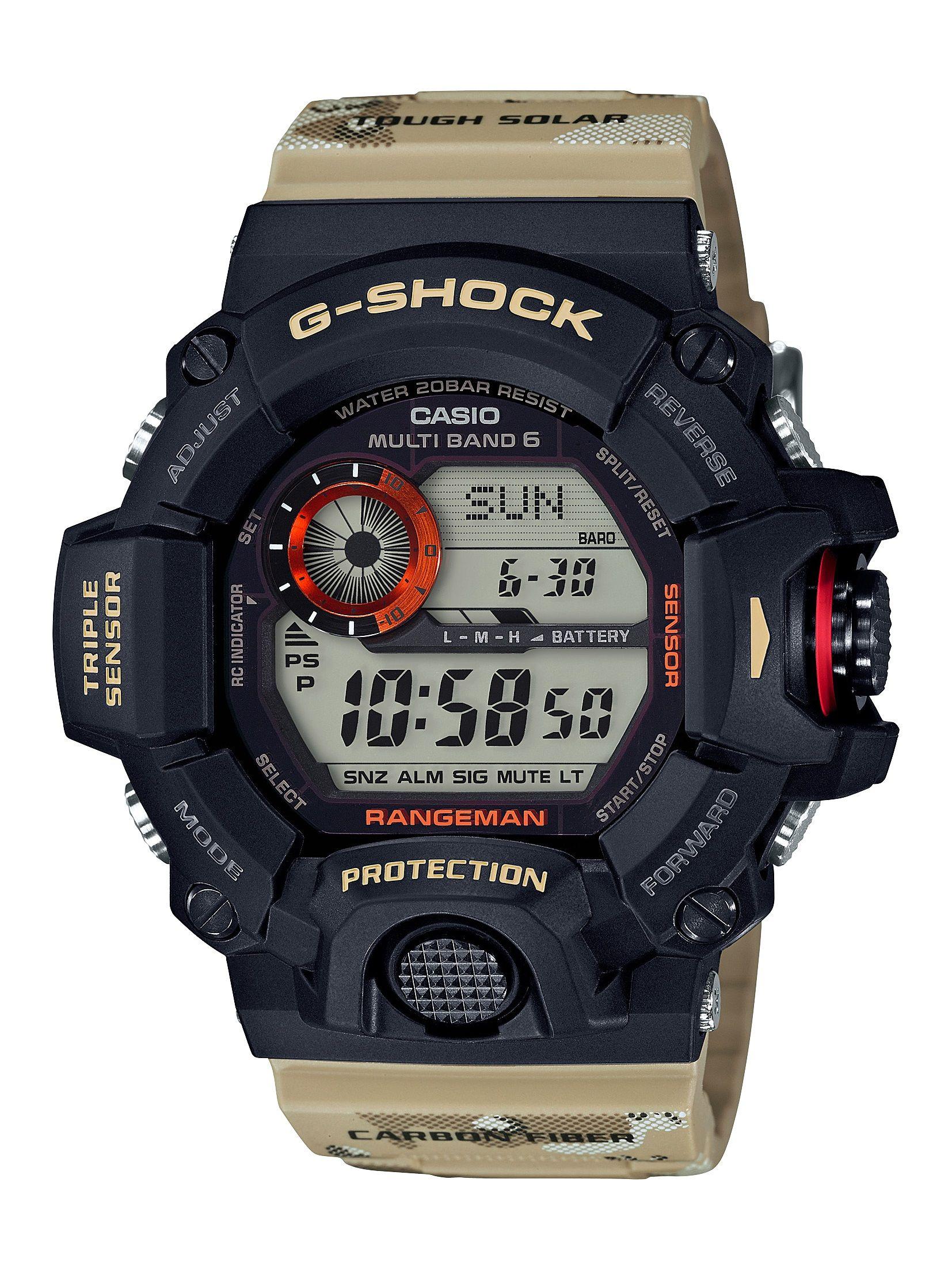 31fd1af14b8 RANGEMAN GW9400DCJ-1 Casio G Shock Watches