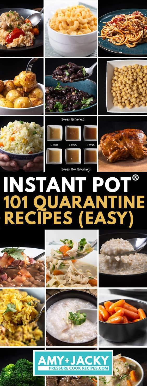 101 Instant Pot Recipes You Can Cook During Self-Quarantine