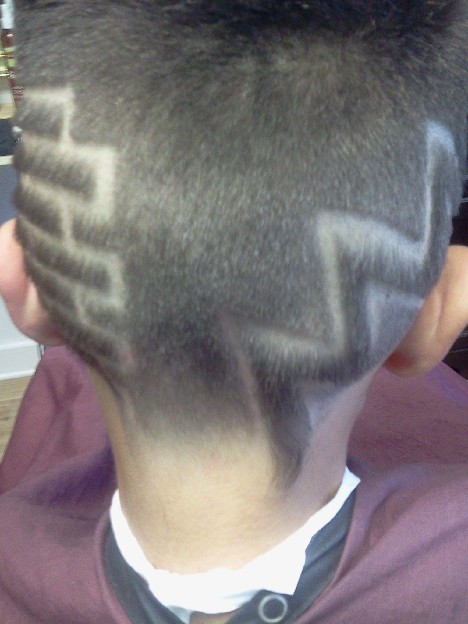 My take on a vintage vanilla ice haircut design from the back my take on a vintage vanilla ice haircut design from the back winobraniefo Image collections