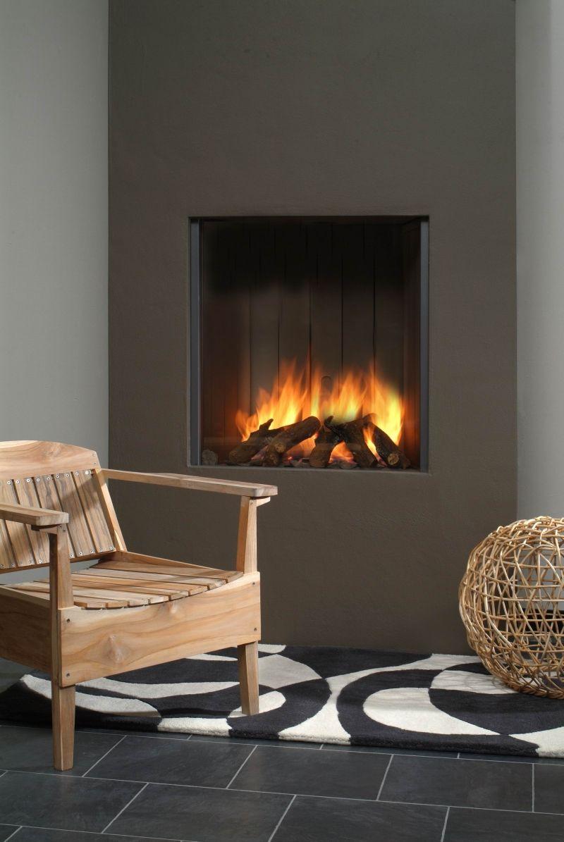 Gas open haard binnen google zoeken 1 pinterest fire places stove and woods - Open haard ontwerp gas ...