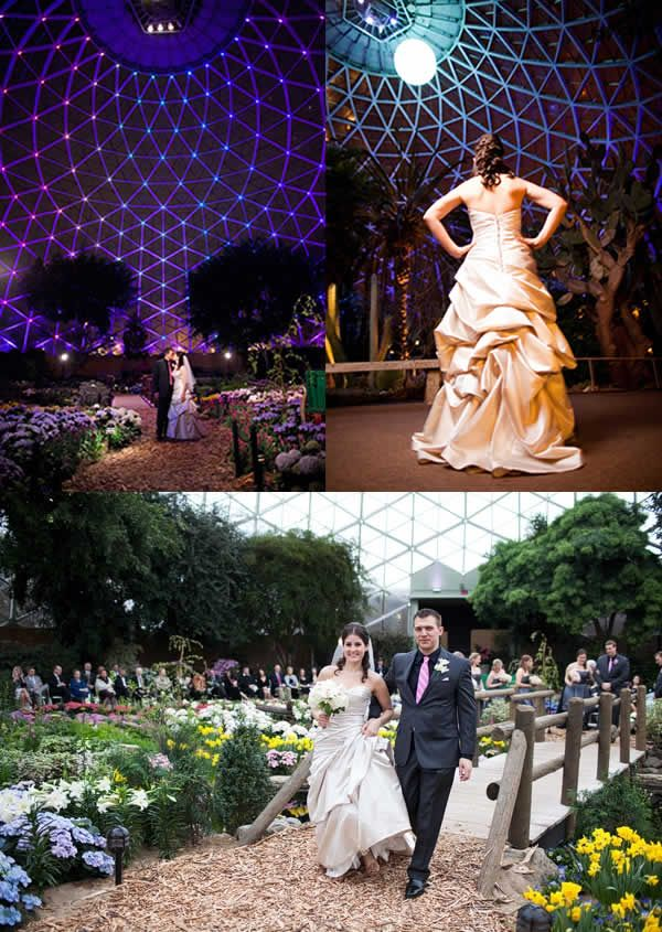 Ceremony At The Milwaukee Domes Mitchell Park Conservatory Photo By Front Room Photography Wedding Ceremonies Pinterest Rooms