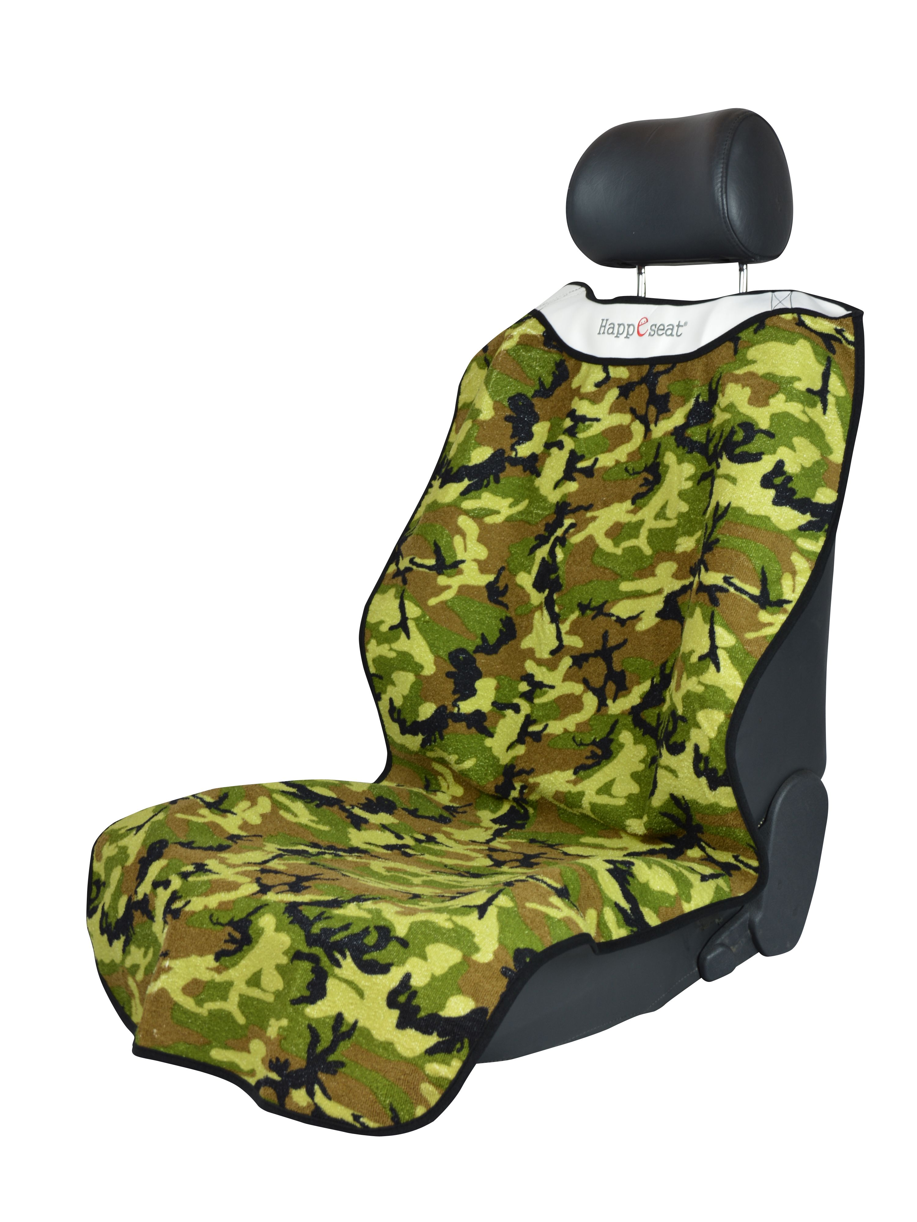 Camouflage happeseat at car seats