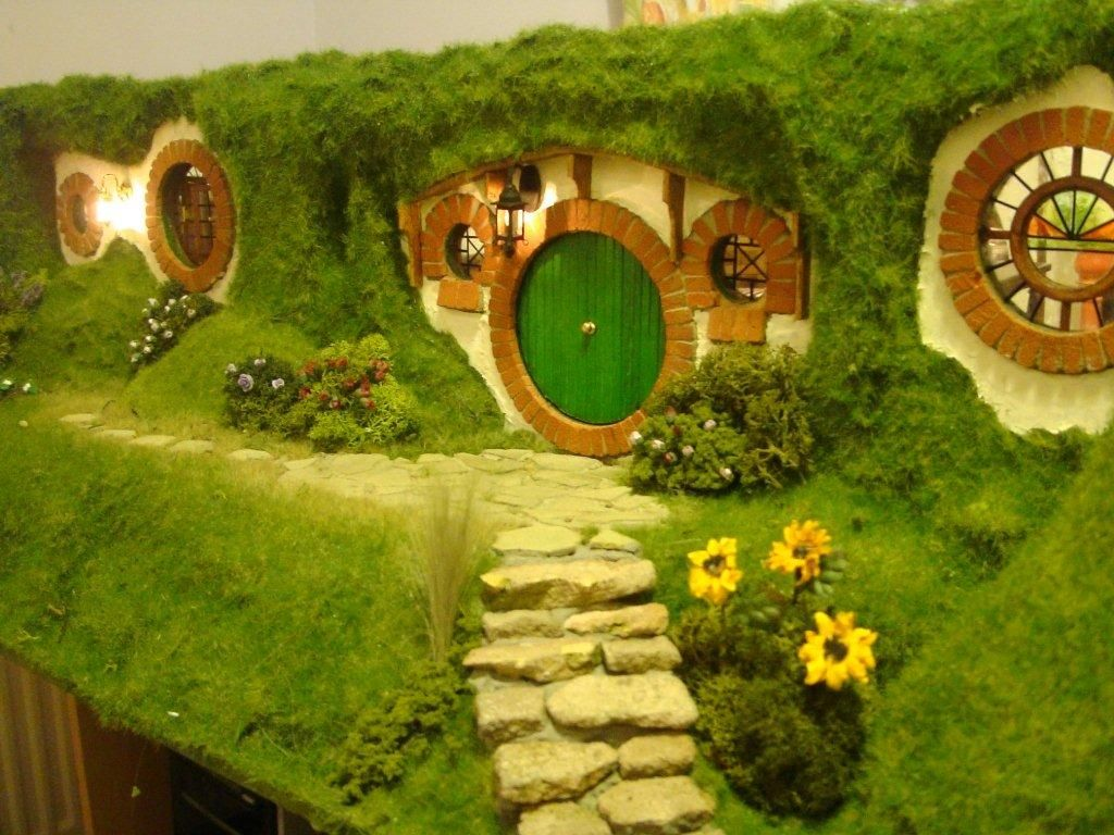 How I made the Hobbit Hole