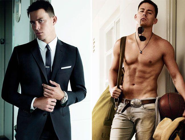 Channing Tatum. Wow.