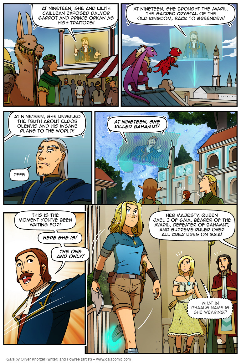 Gaia Webcomic the last queen of gaia 035 | comedy comics, gaia, webcomic