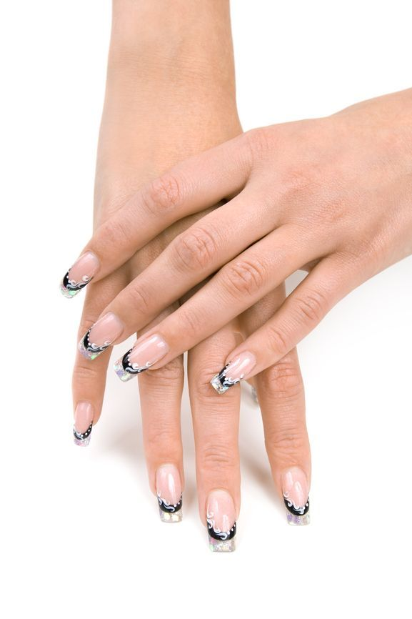 nice natural french acrylic