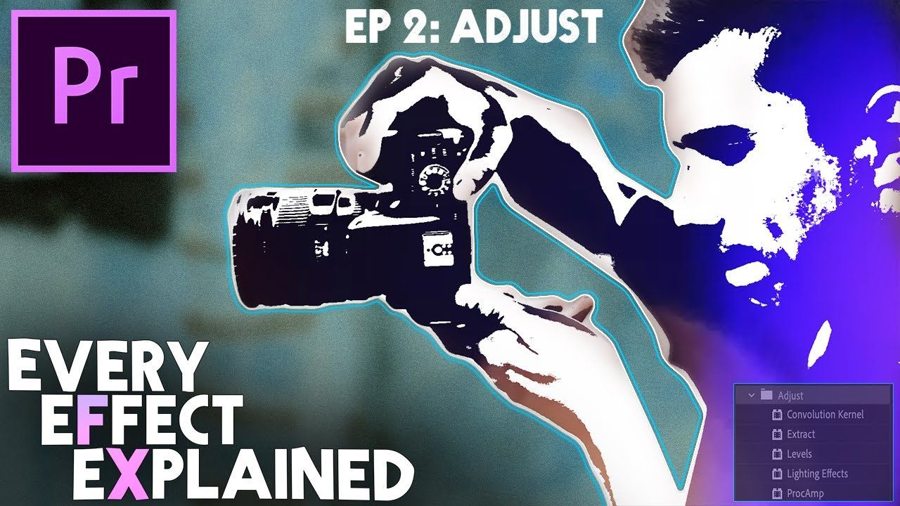 Every Effect in Adobe Premiere Pro Explained Ep 2