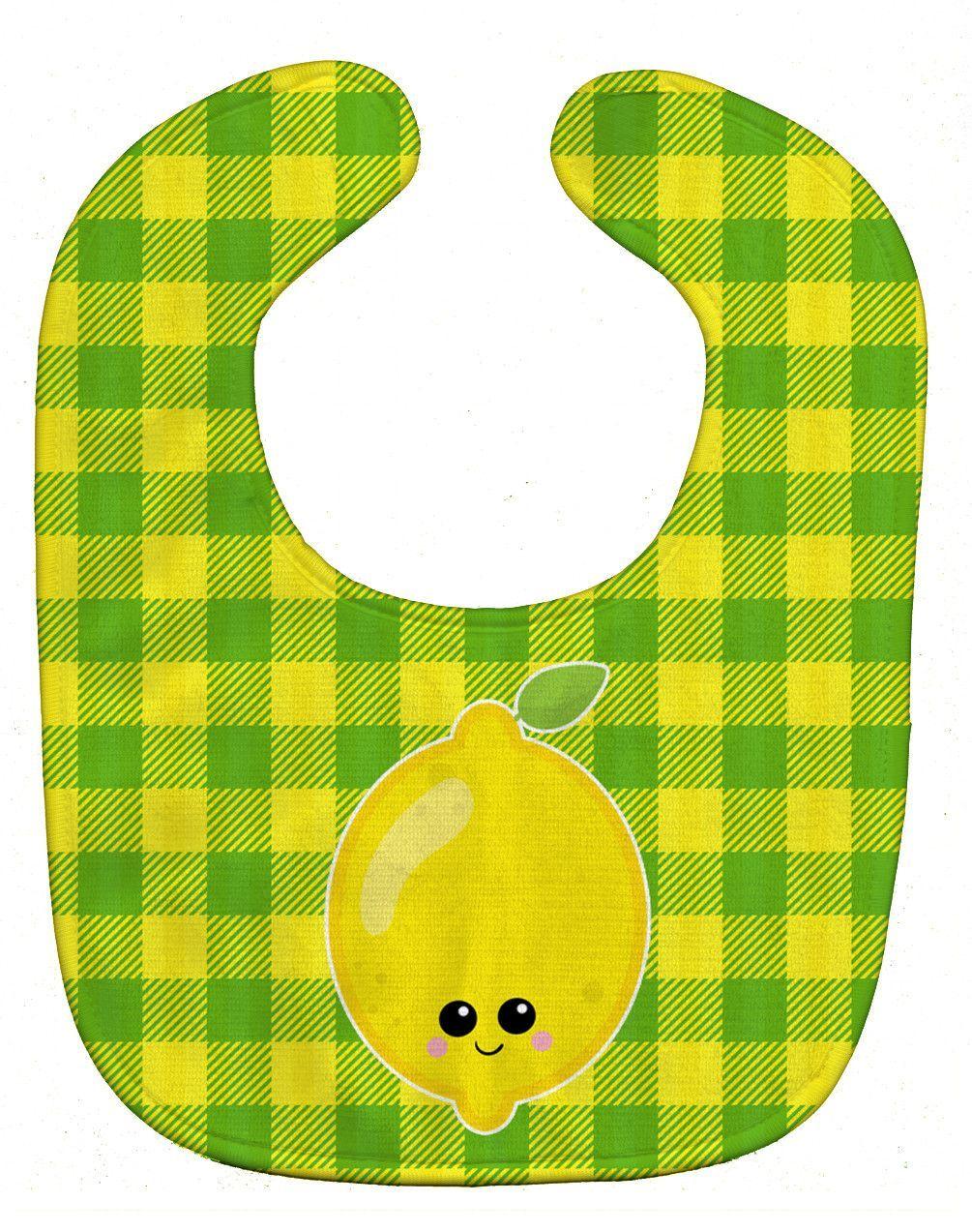 Lemon Face Baby Bib BB7055BIB