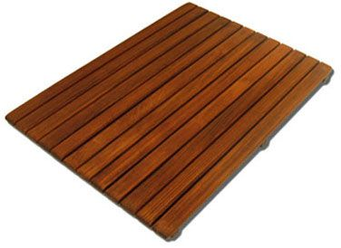 teak bath mat teak has the natural ability to resist mold mildew and bacterial
