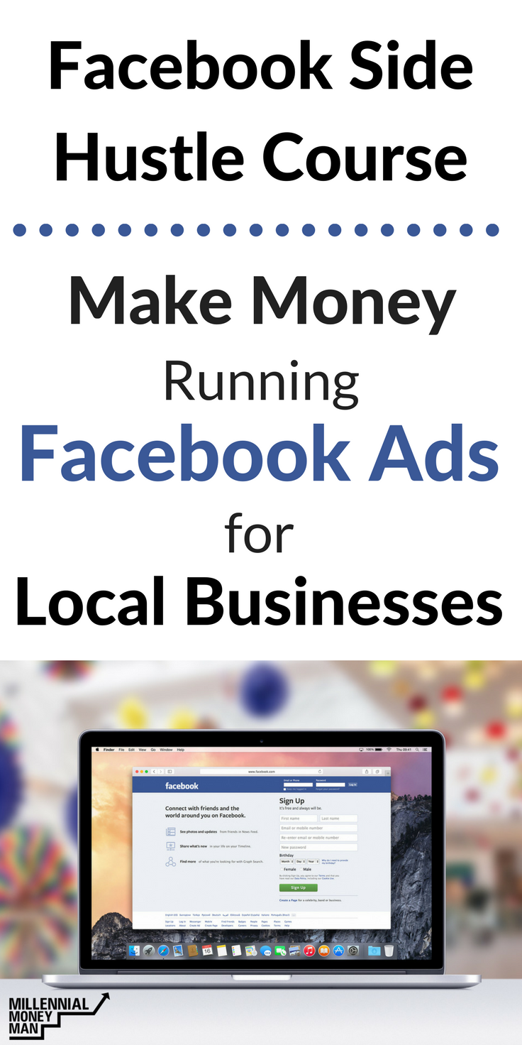 Facebook Side Hustle Course | Facebook ad campaigns, how to run ...