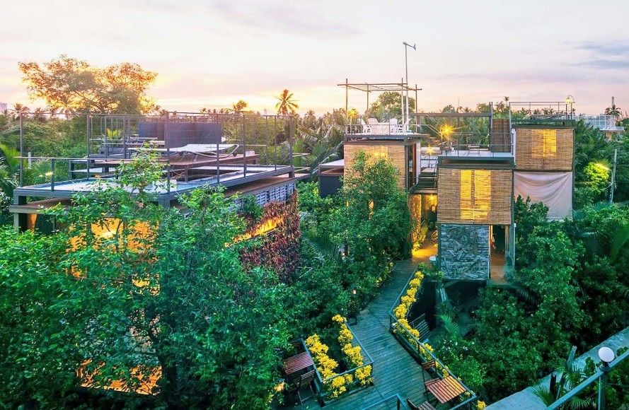 Exotic solar and wind-powered Bangkok Tree House resort is a ...