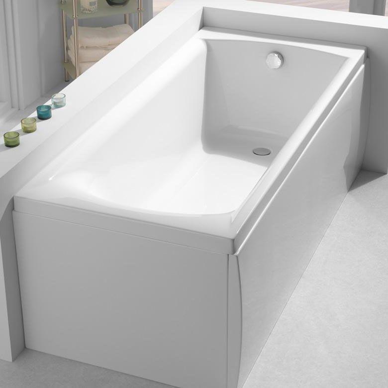 Carron Delta Rectangular Bath 1400mm x 700mm - Carronite | Carron ...