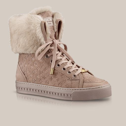 d2ae1077877 Jazzy sneaker in suede calf and rabbit fur via Louis Vuitton | Love ...