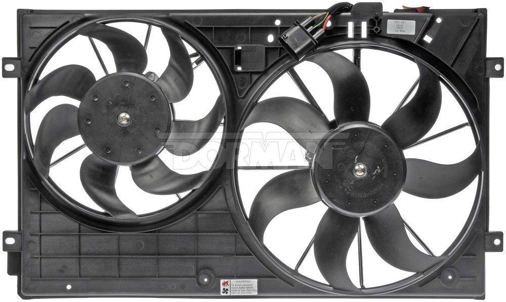 Engine Cooling Fan Assembly Dorman 620 843 Radiator Fan Fan