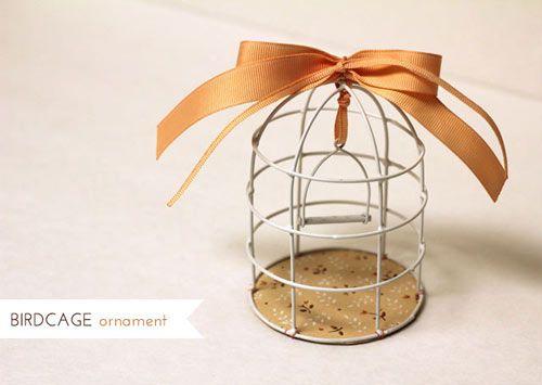 #DIY Birdcage Ornament