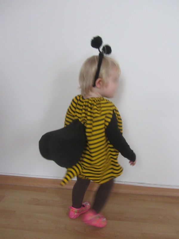 Kostüm Biene – knuffeliges.de   nähen   Pinterest   Kostüm biene ...