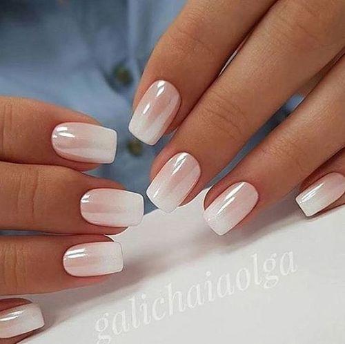 Uñas Blanco Perla Para La Primavera Veroo Pinterest