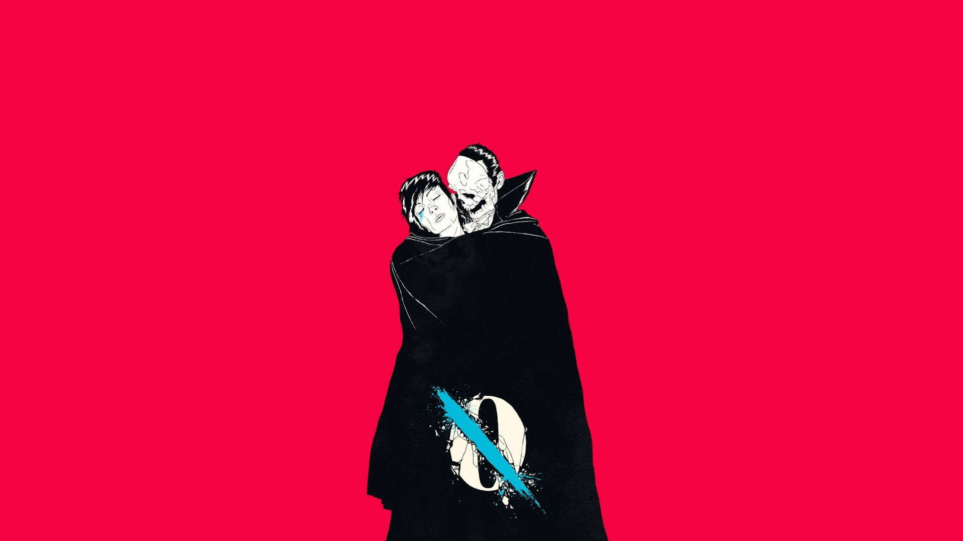 1920x1080 A Few Like Clockwork Wallpapers R Wallpapers Queens Of The Stone Age Contemporary Illustration Album Covers