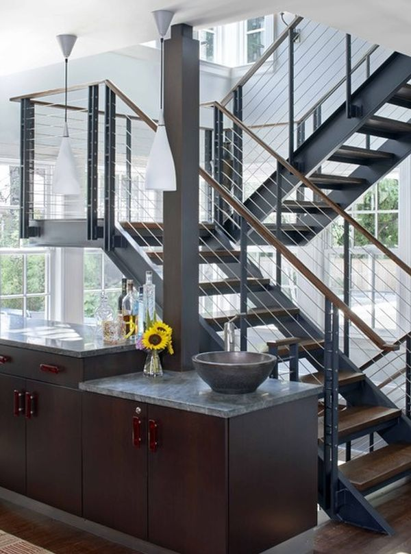Amazing 10 Steel Staircase Designs: Sleek, Durable And Strong Ideas