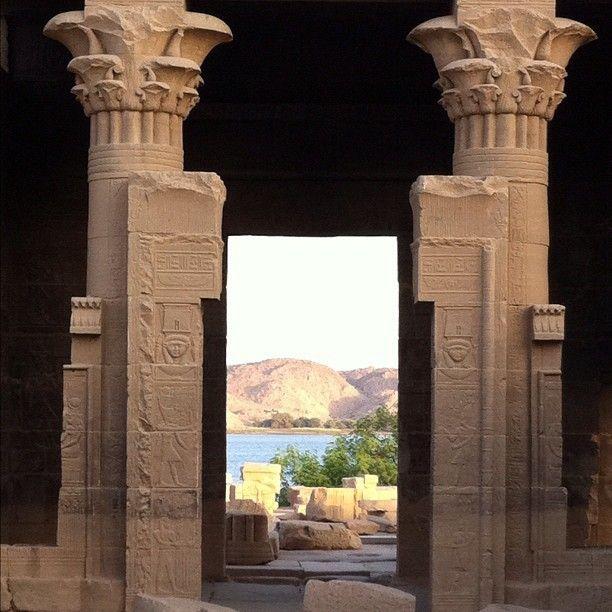 By @yktalhouni #temple of #isis #اسوان #مصر #aswan #egypt #magicalarabia