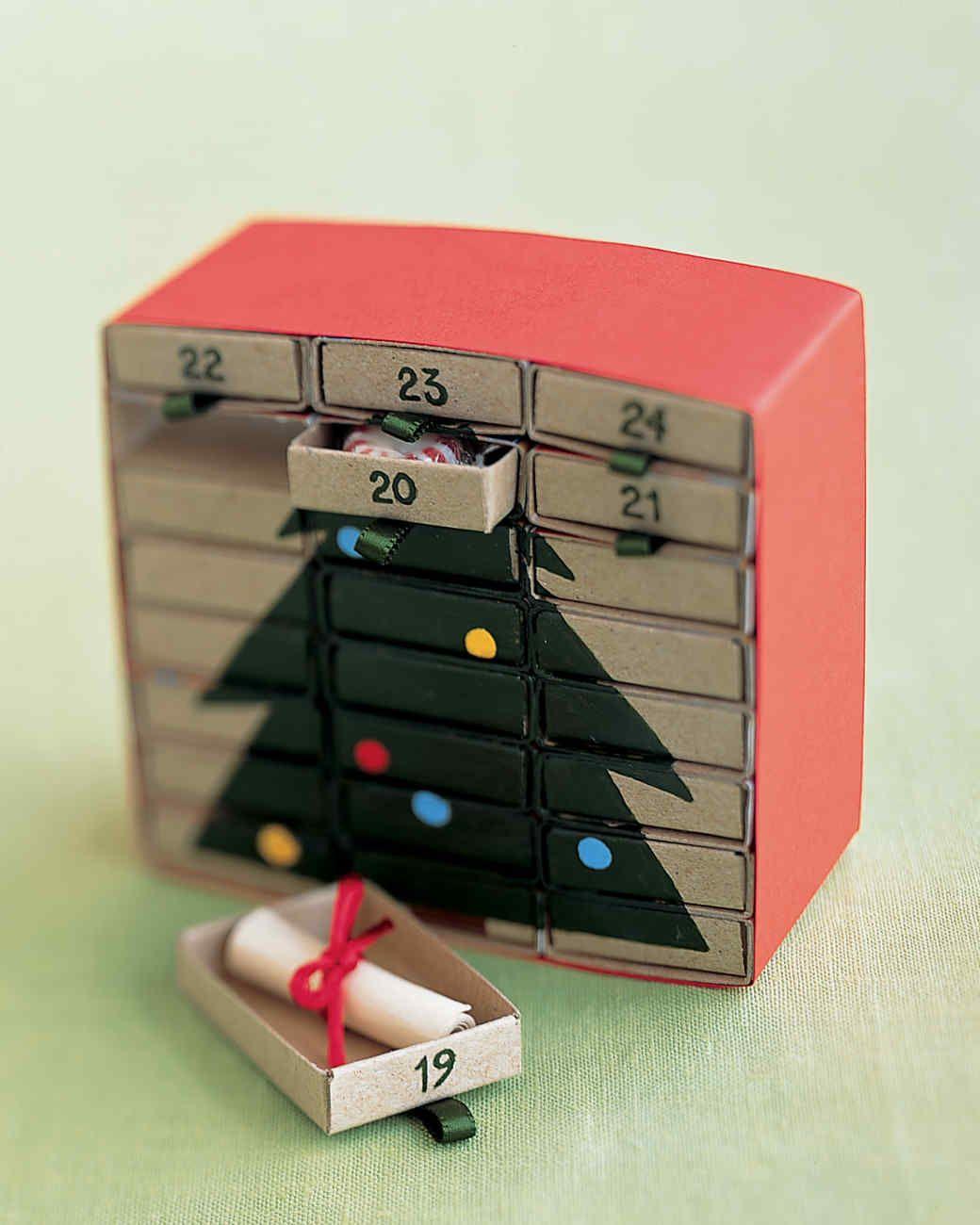 M Is for Matchbox Advent Calendar