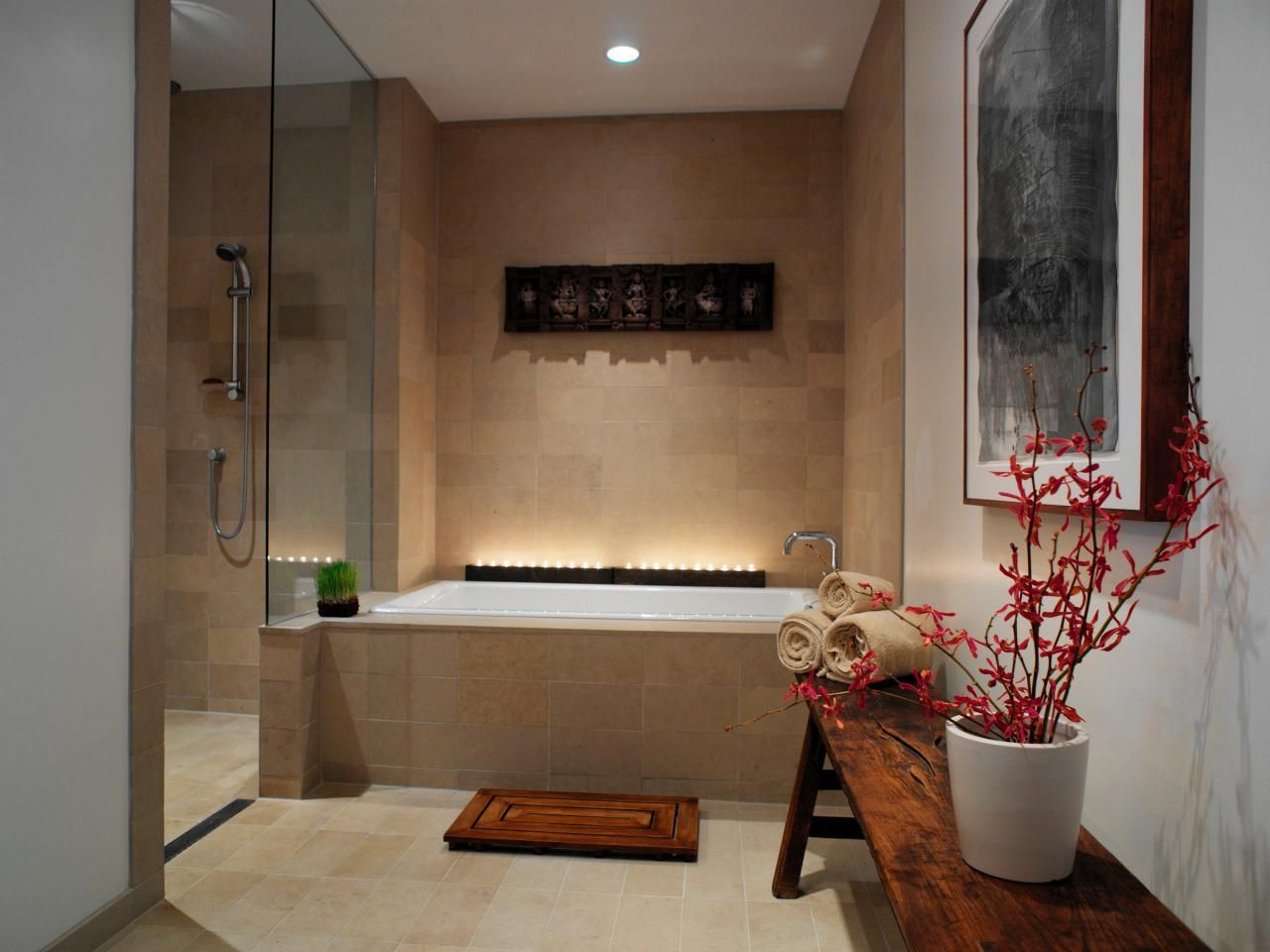 Spainspired Master Bathroom  Master Bathrooms Hgtv And Spa Fascinating Luxury Spa Bathroom Designs Design Inspiration