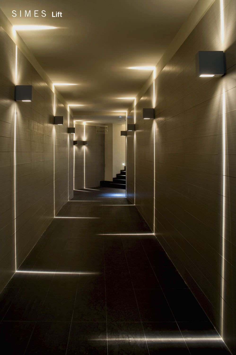 funky lighting ideas. Wall Effect Of A Rigorous Geometry Design, LIFT By Simes Fits Perfectly In Different Architectural Environments. I Like It For The Light, Not Geometry. Funky Lighting Ideas