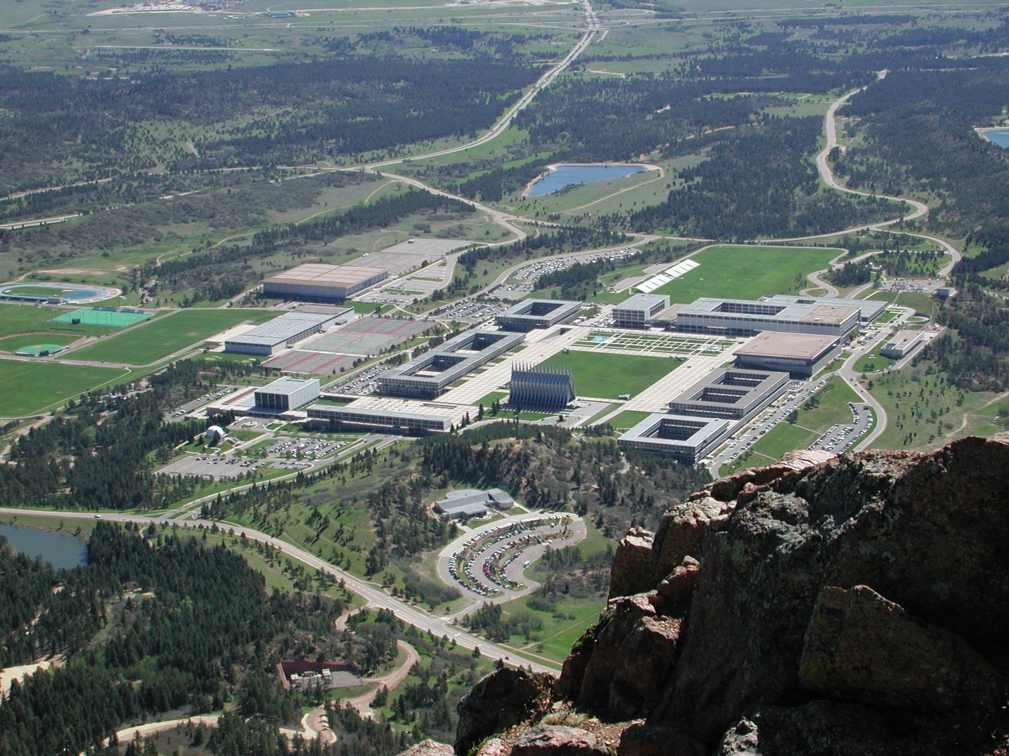 View Of The Us Air Force Academy I Worked In The Cadet