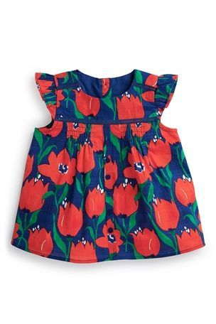 Buy Short Sleeve Blouse (3mths-6yrs) from the Next UK online shop