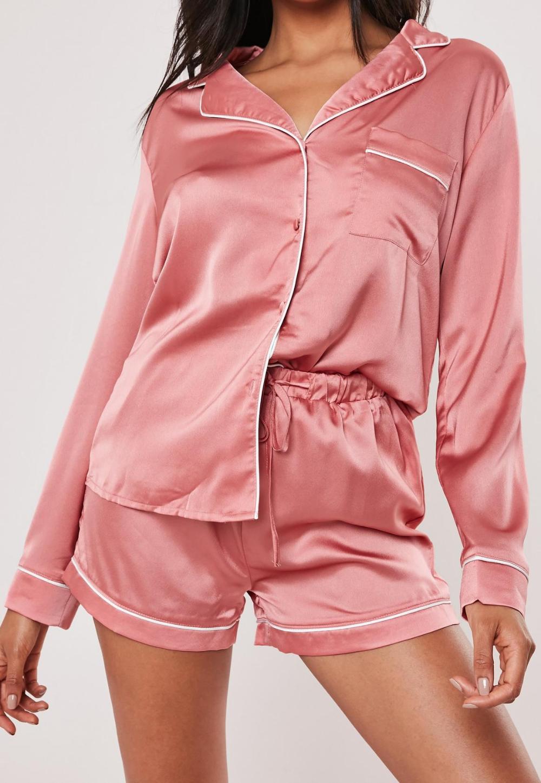 Naturally Nude Capri Pajamas - Pink in Naturally Nude