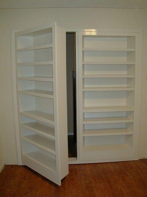 Hidden Door To Utility Storage Room Idees Pour La Maison Deco