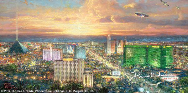 Viva Las Vegas by Thomas Kinkade
