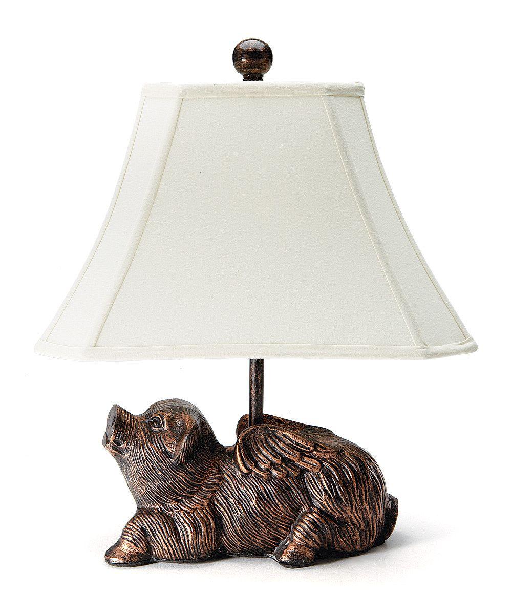 Flying pig lamp love for pigs pinterest flying pig flying pig lamp arubaitofo Images