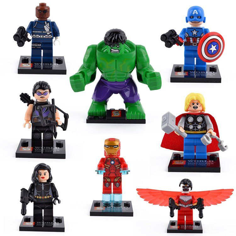 Lego Black Widow /& Captain America 76101 Super Heroes Avengers Minifigures Set