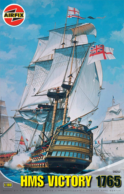 Hms Victory 1765 Plastic Model Kit Scale 1130 With Pictorial