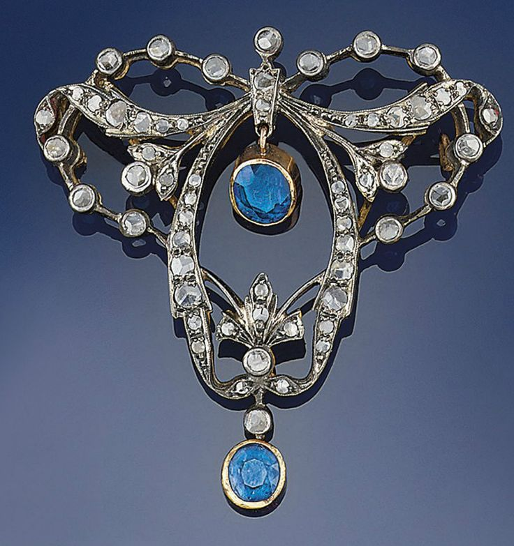 How would you describe this? Sapphire Brooches
