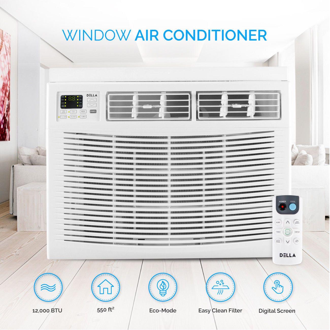 550sq ft Window Air Conditioner (115Volt; 12,000BTU
