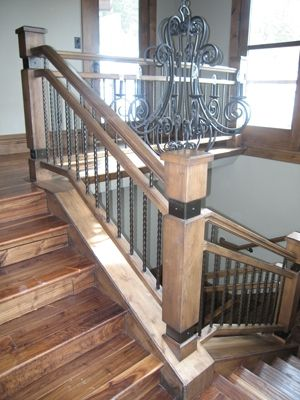 Nice Stair Newel Post Designs | Available Post To Post And Over The Post Or  Continuous