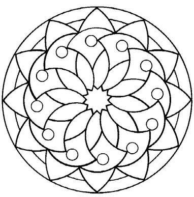 Coloring on Pinterest Mandala Coloring Pages, Mandalas and