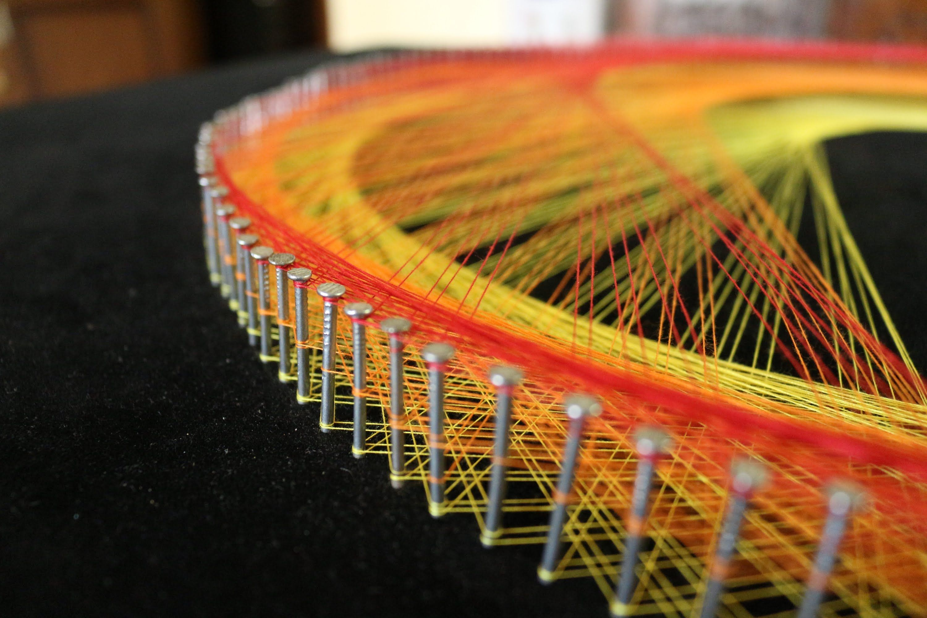 String Art Patterns With Extreme Geometry Pinterest String Art