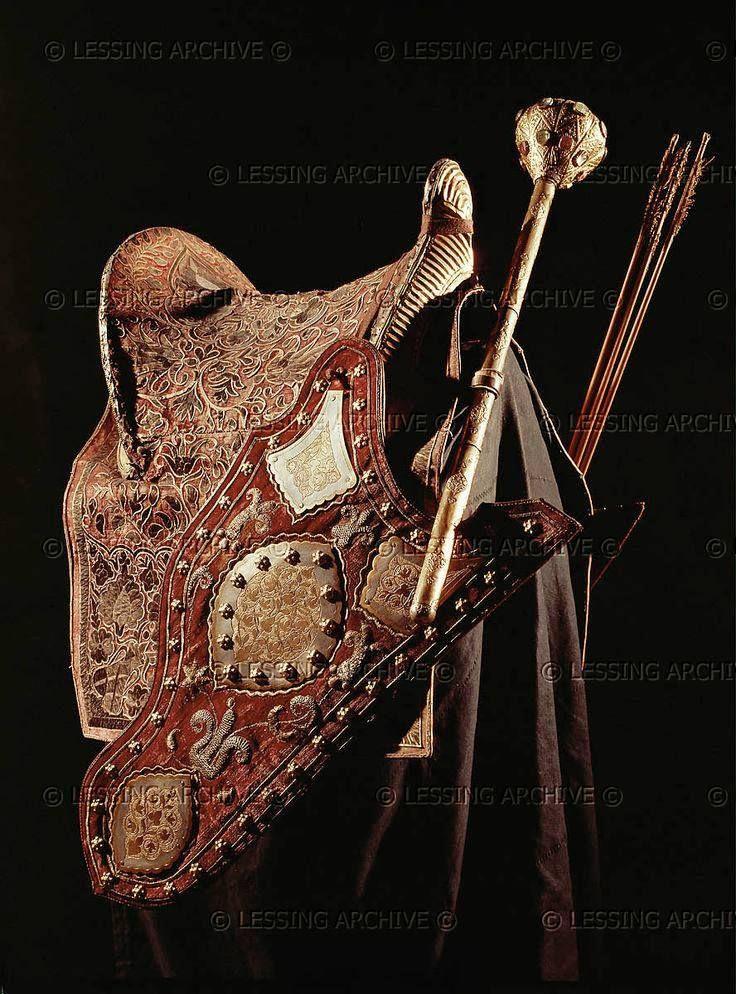 17.yy. Türk Osmanlı Eyer..   Horse costumes, Horse armor