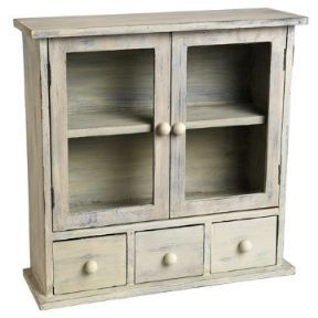 Rustic 3 drawer cabinet