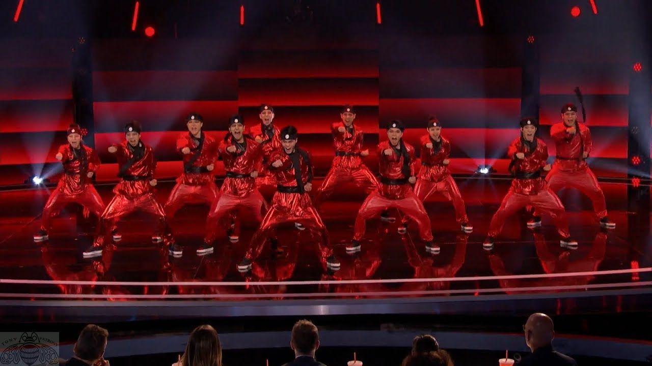 America's Got Talent 2017 Just Jerk Ultimate Dynamic Dancer Crew Full Cl...